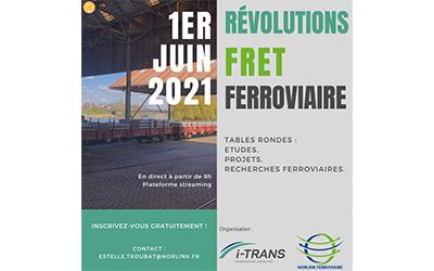 Le replay des Révolutions Fret Ferroviaire est disponible !